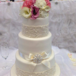 Wedding Cake Flowers 09