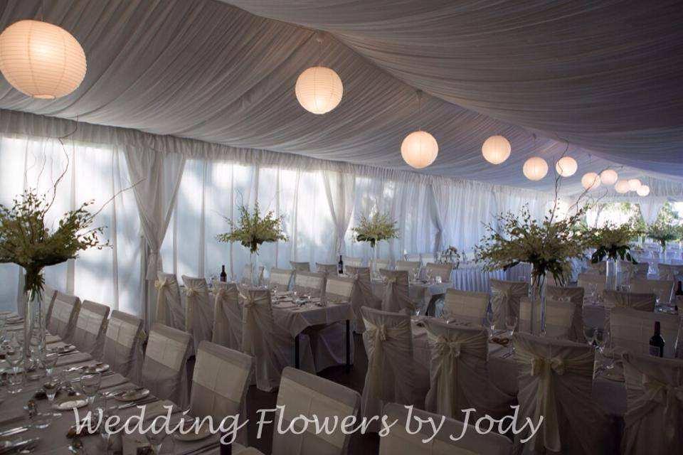 wedding flowers Yarramundi House