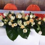 Floral Wedding Centrepiece
