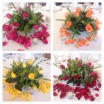 floral table flowers