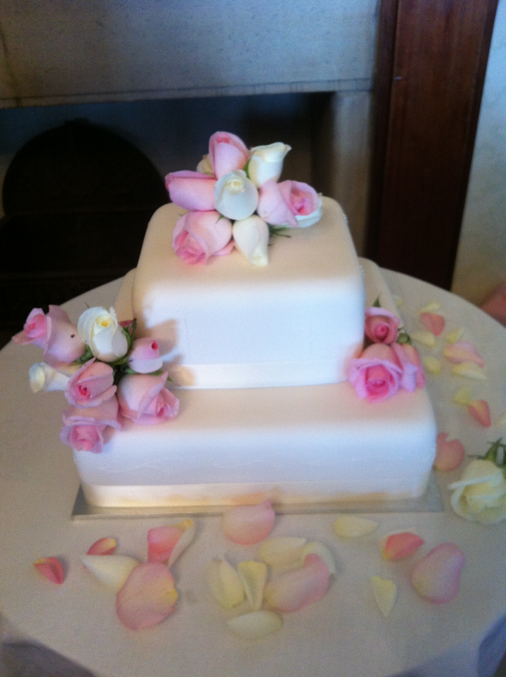 Wedding Cake Flowers 04
